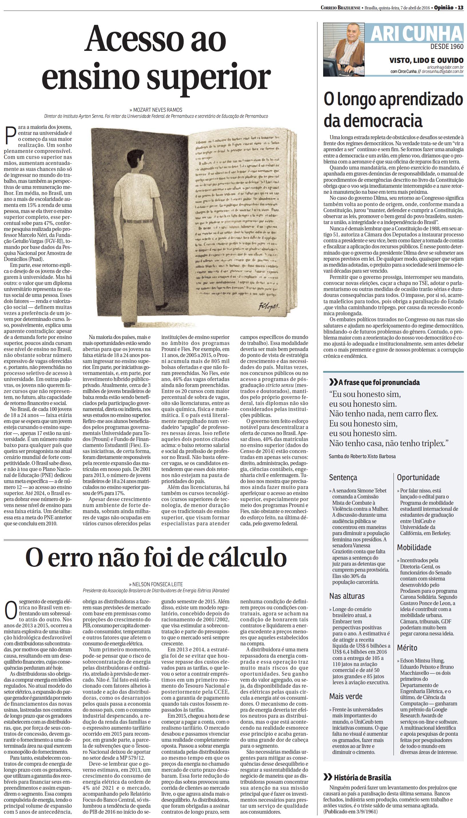 Abradee - correio Braziliense