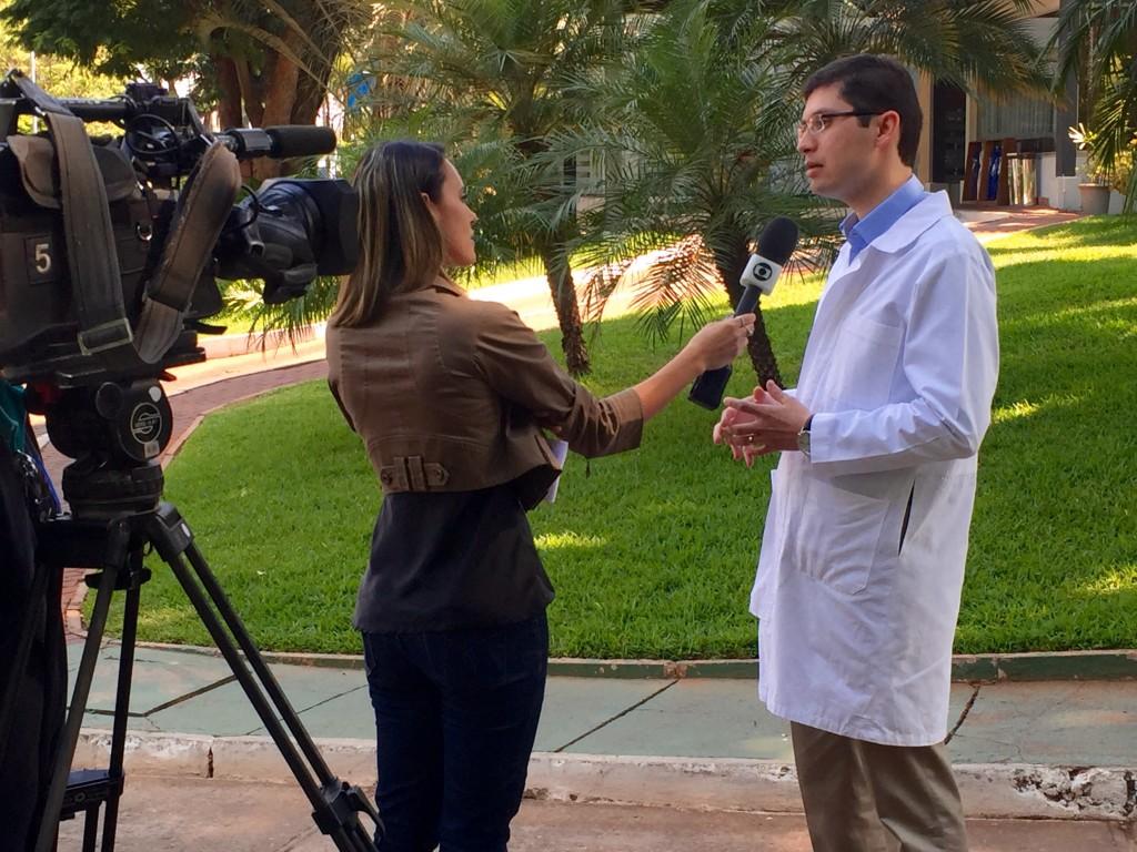 TV Globo - Dr. Daniel Salomão - HSL