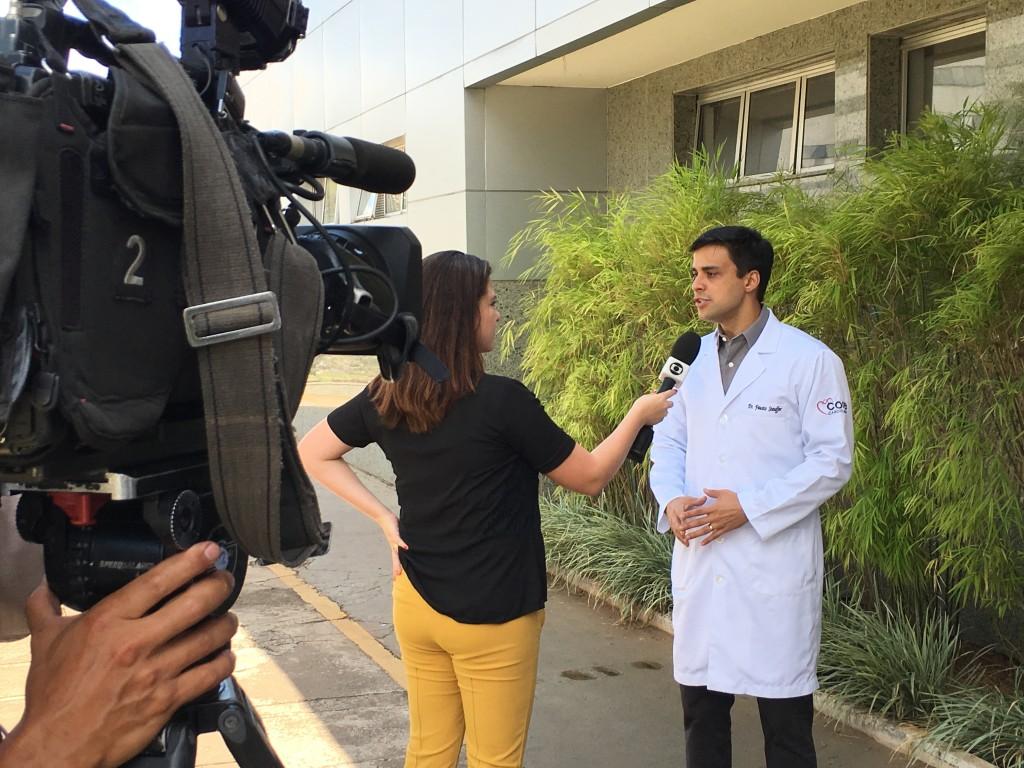 TV Globo - Dr. Fausto Stauffer - HSLN - 01-03-2016