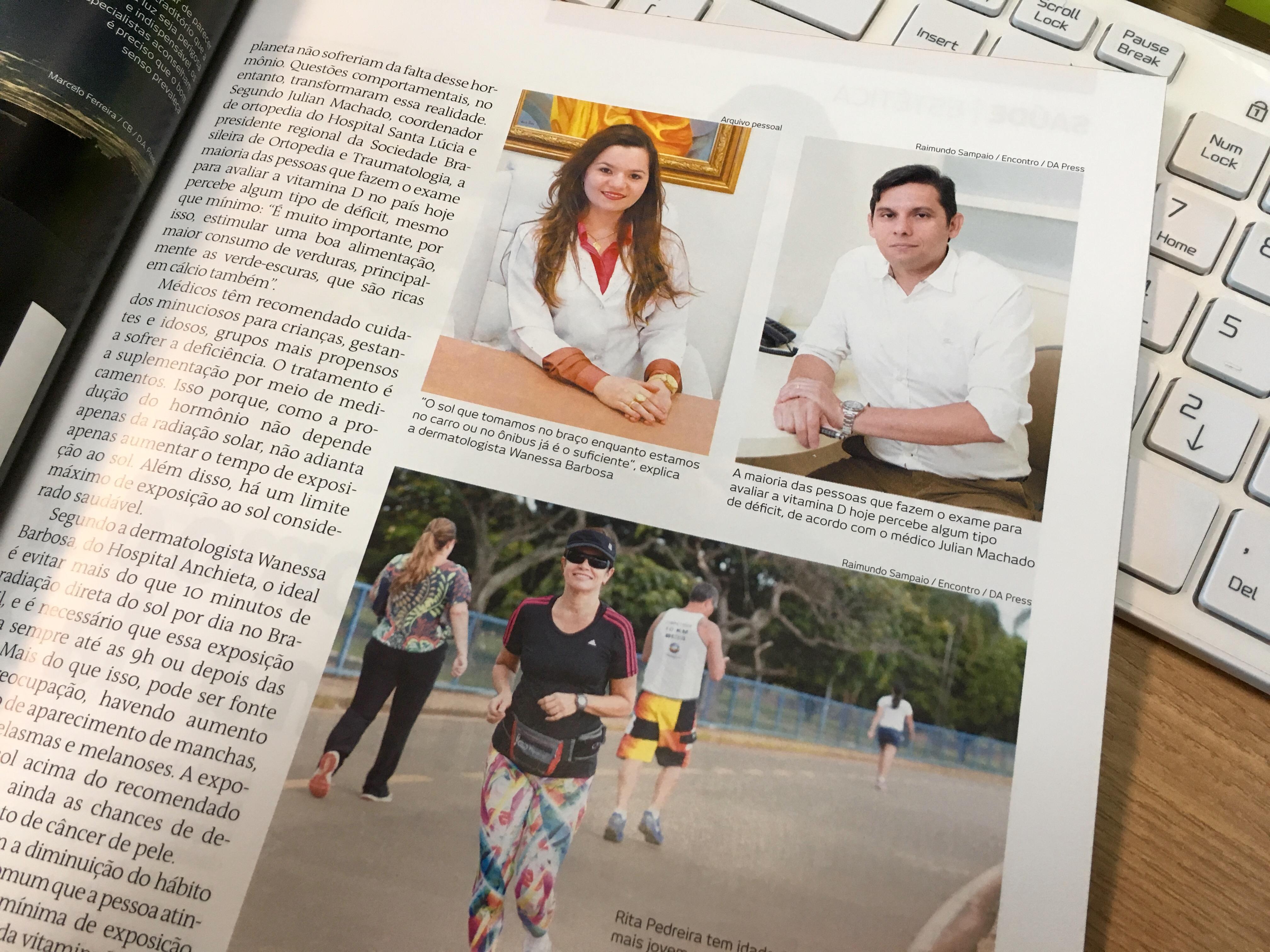Revista Encontro Brasília - Dr. Julian Machado - Abril de 2016 [2]