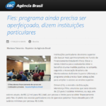 Agência Brasil - Abmes