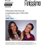 O Boticário dá dicas de maquiagem para o São João   Finíssimo   Brasília na Moda
