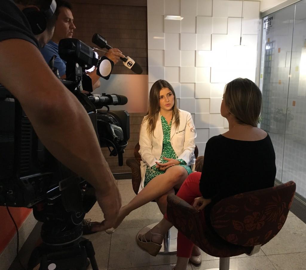 TV Globo e SportTV - Ceol Otorrino