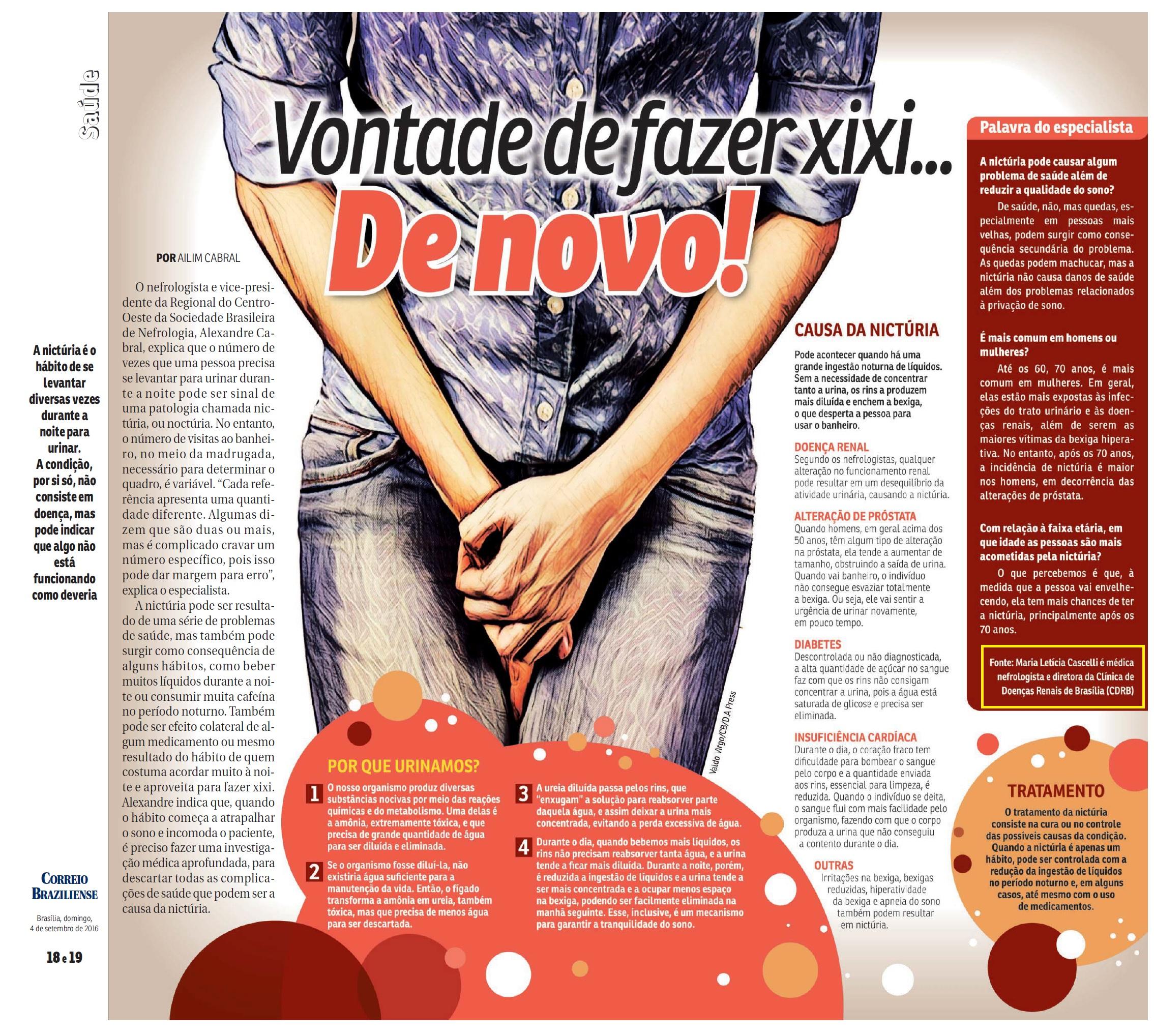 Revista do Correio - Dra. Maria Letícia CDRB - 04-09-2016