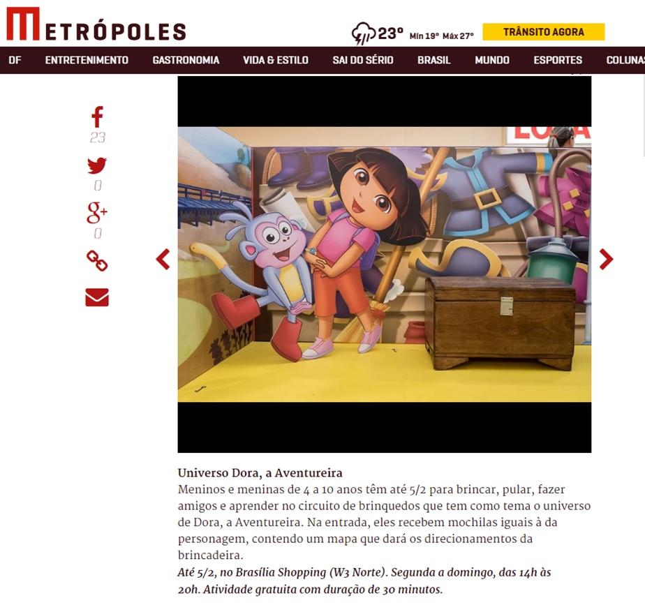 Dora - Metropoles - Corpo