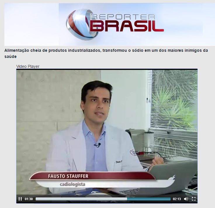 TV Brasil - Dr. Fausto Stauffer HSL - 26-01-2017
