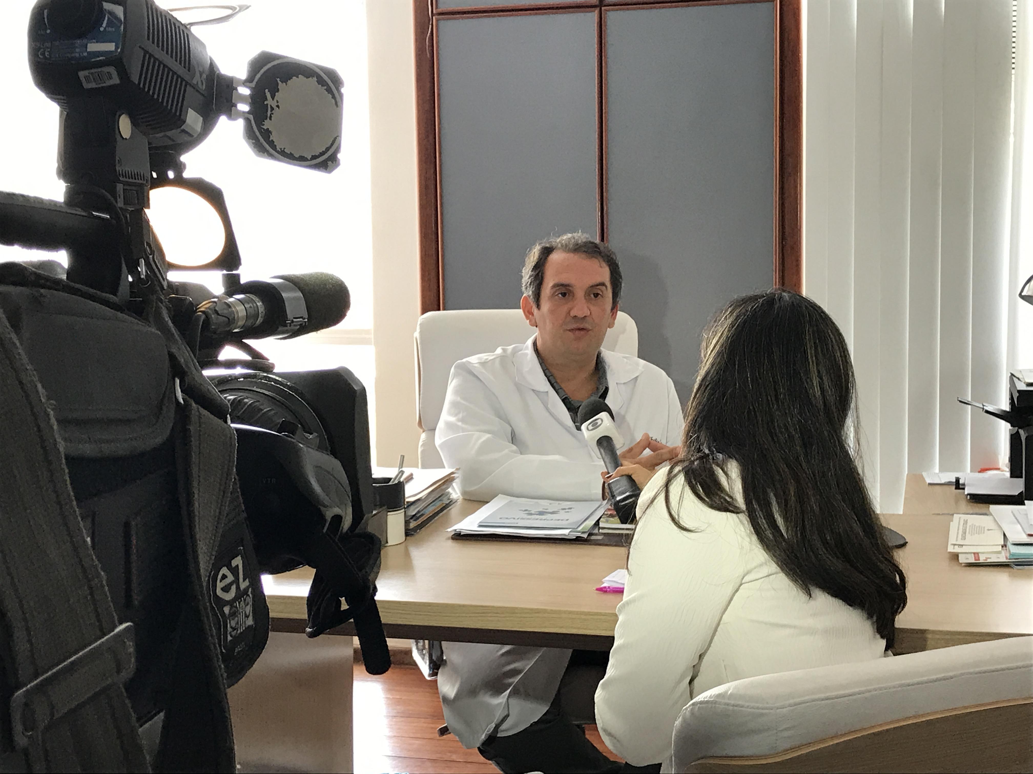 TV Globo - Dr. Fábio Aurélio Leite HSLN - 21-03-2017