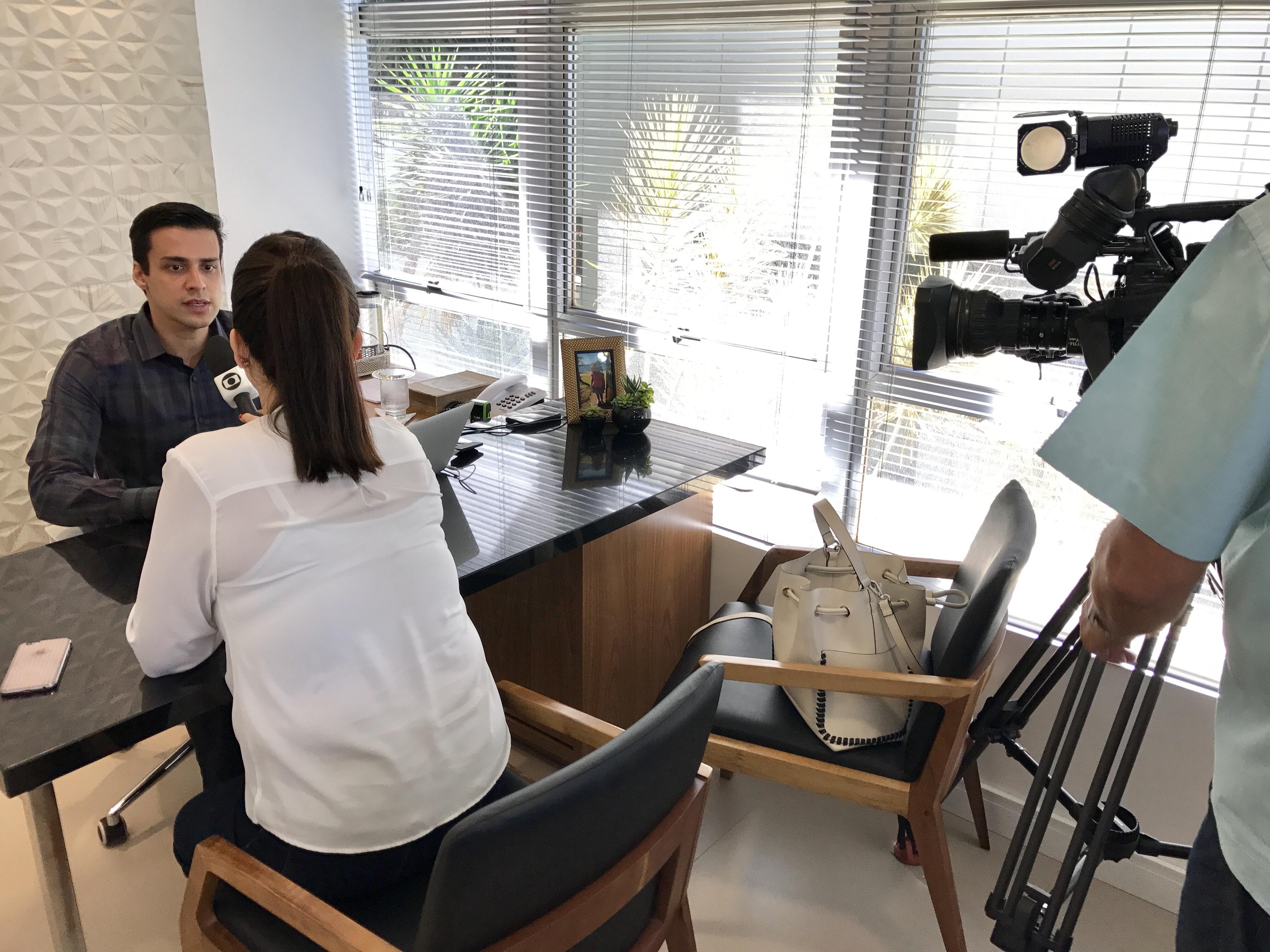 TV Globo - Dr. Fausto Stauffer HSLN - 31-03-2017