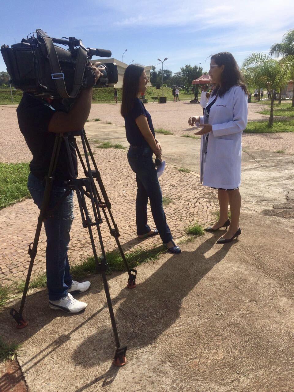 TV Globo - Dra. Janaína Sturari HMA - 25-03-2017