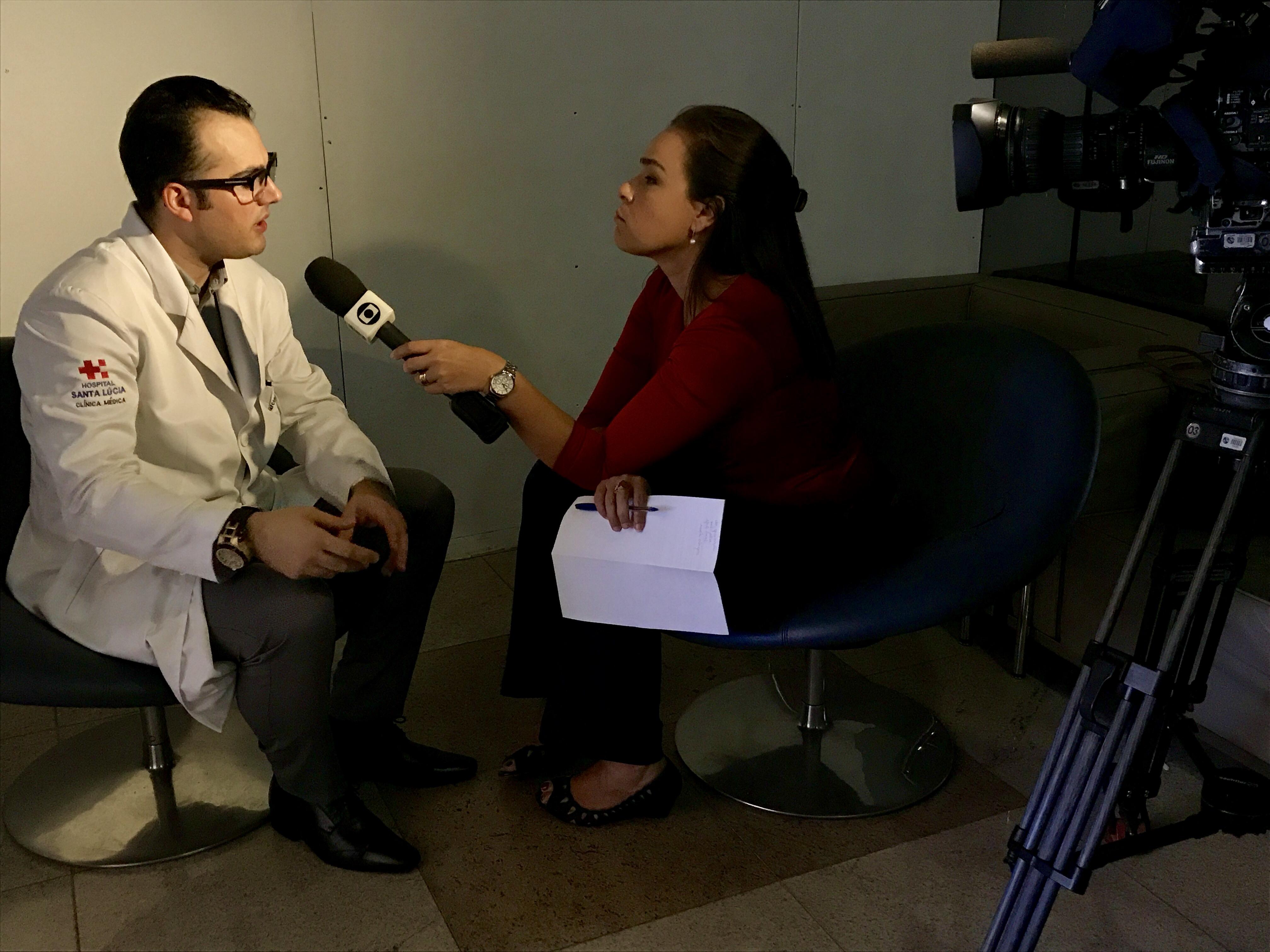 TV Globo - Dr. Marcos Pontes HSL - 26-04-2017