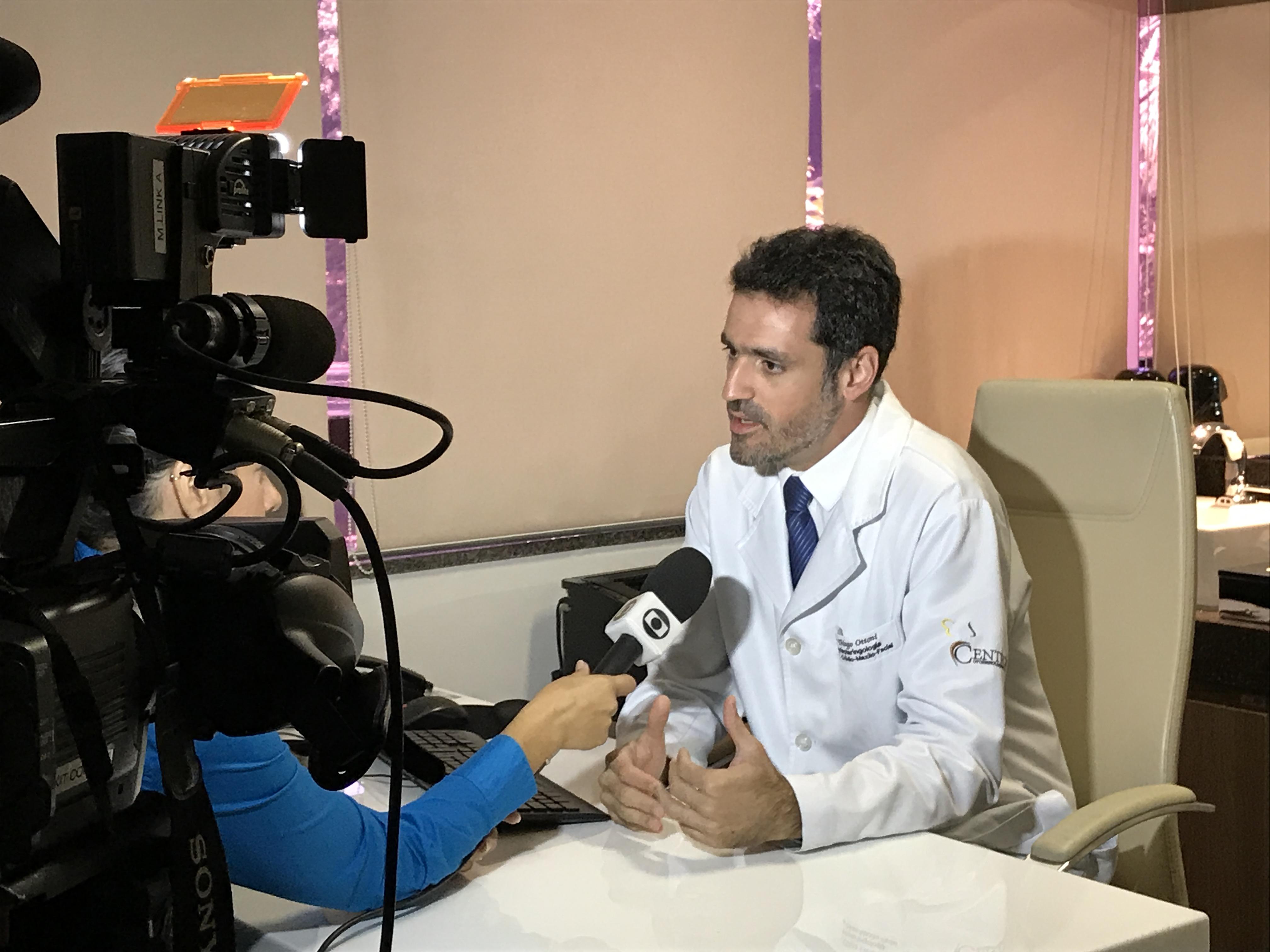 TV Globo - Dr. Thiago Ottoni - 03-04-2017