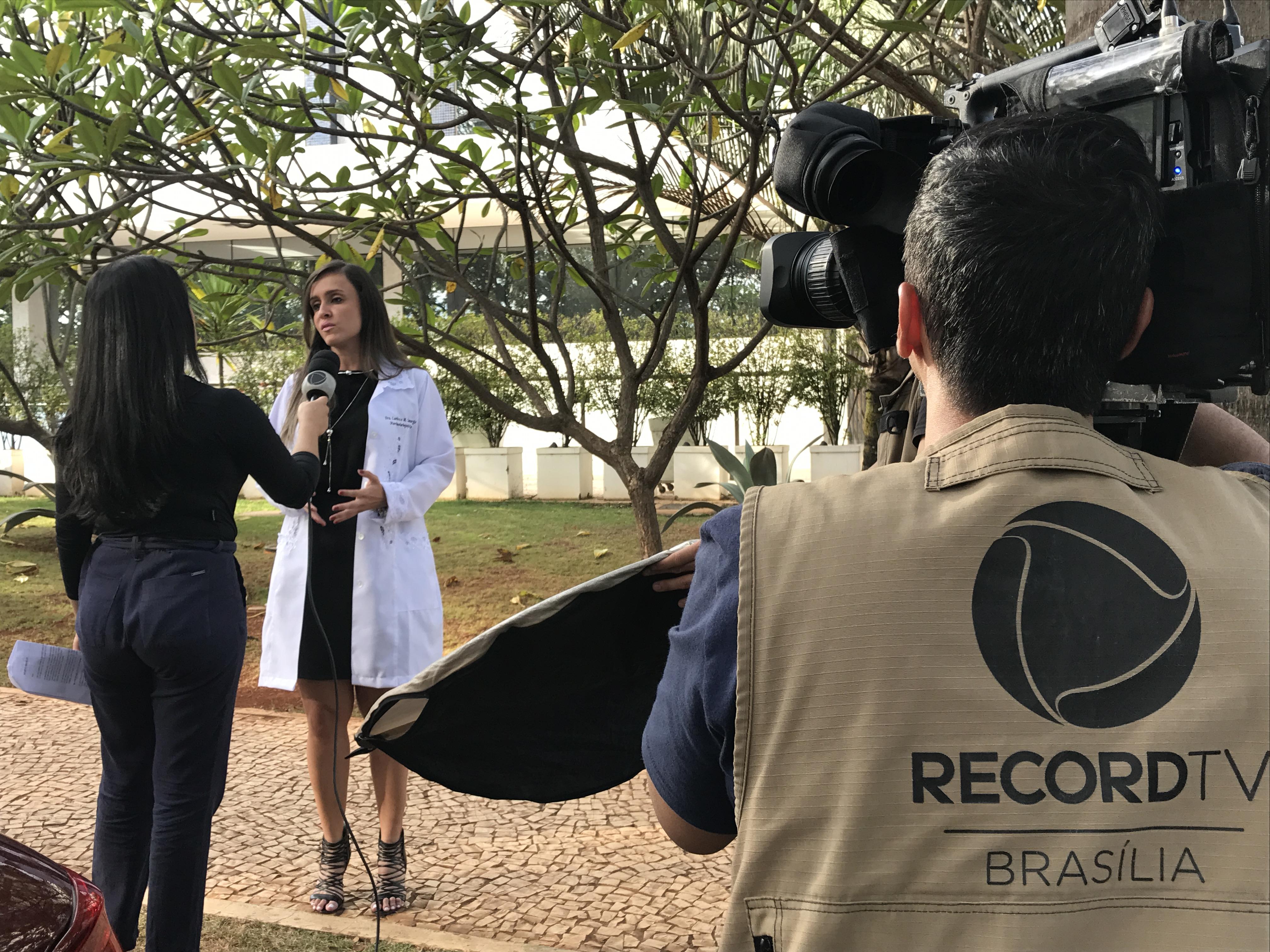 TV Record - Dra. Larissa Camargo Ceol - 27-04-2017