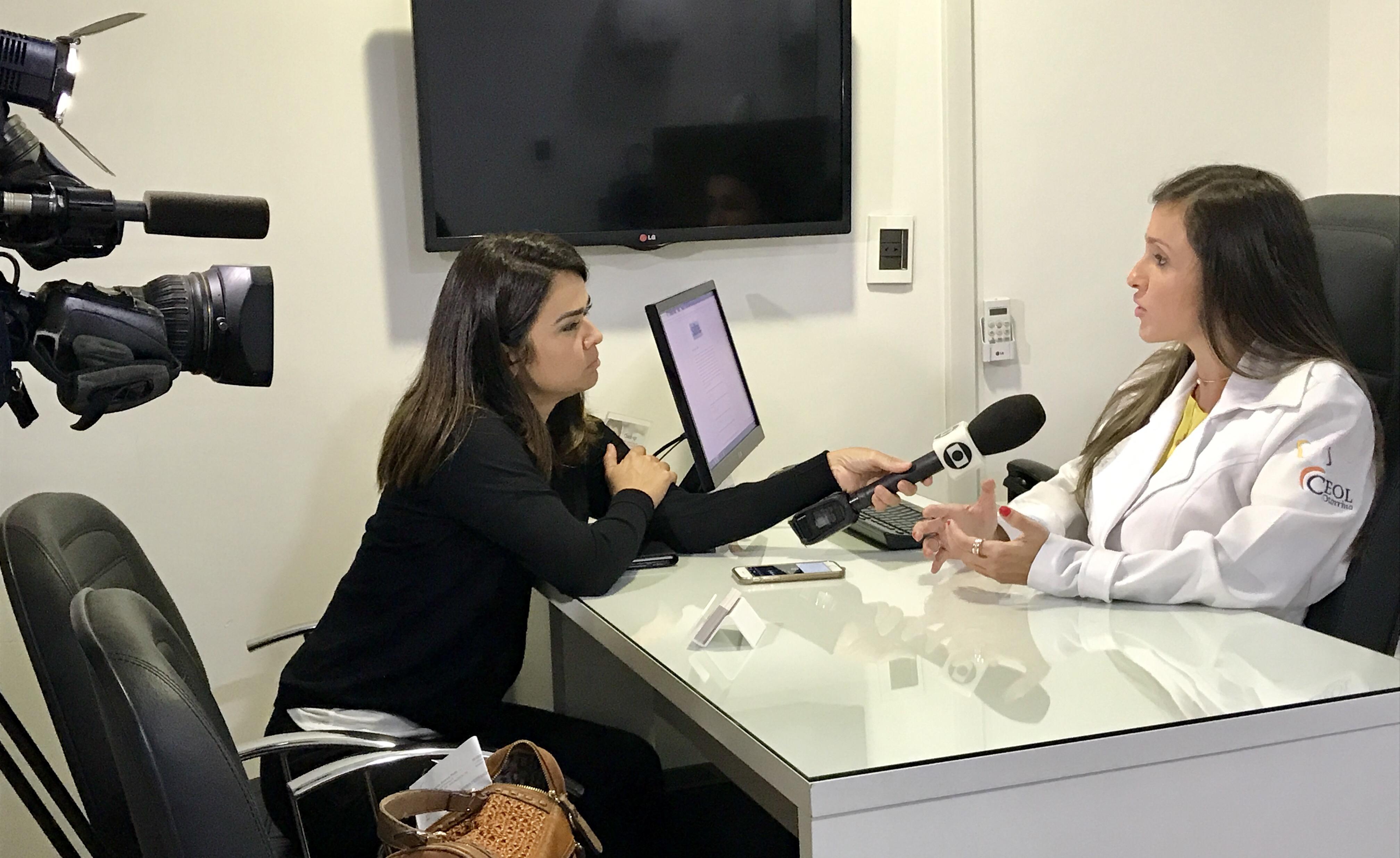 TV Globo - Dra. Larissa Camargo - 03-05-2017