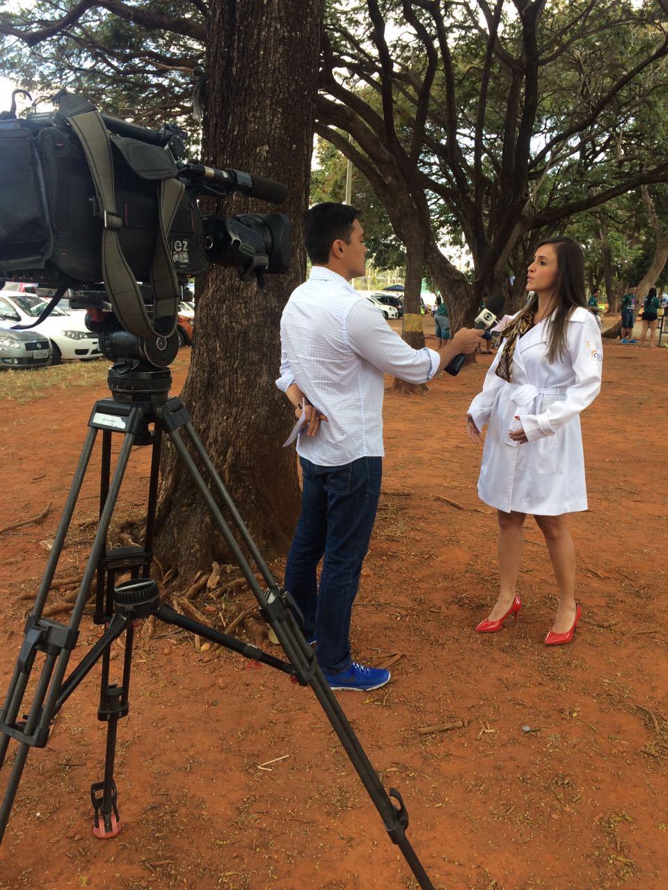 TV Globo - Dra. Larissa Camargo - 13-05-2017
