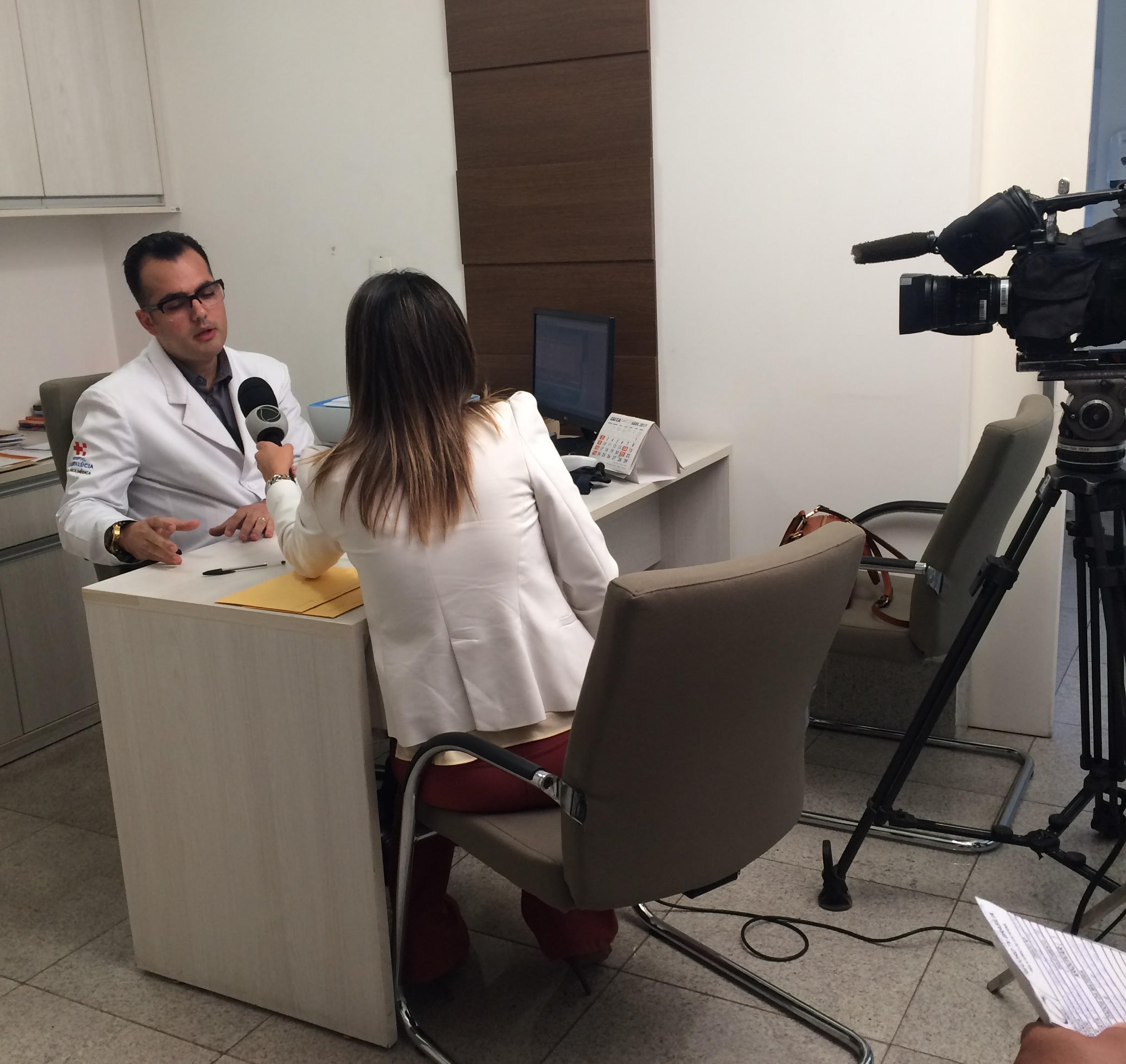 TV Record - Dr. Marcos Pontes HSL - 04-05-2017