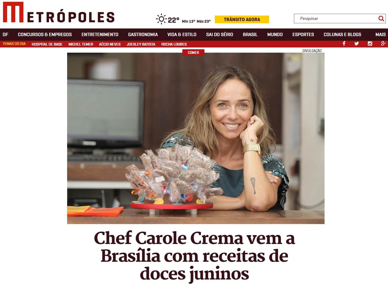 Carole - Metrópoles