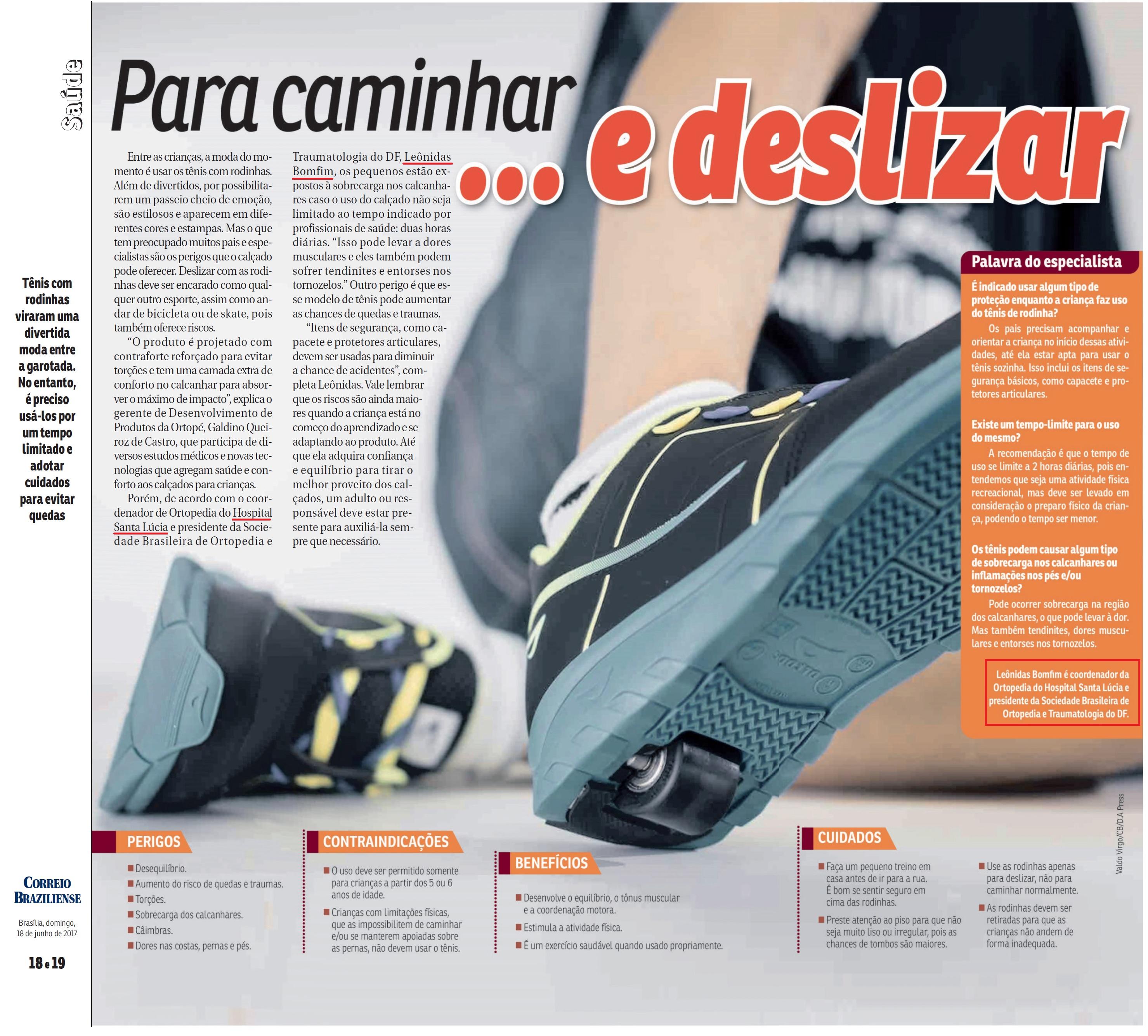 Revista do Correio - Dr. Leônidas Bomfim HSL - 18-06-2017
