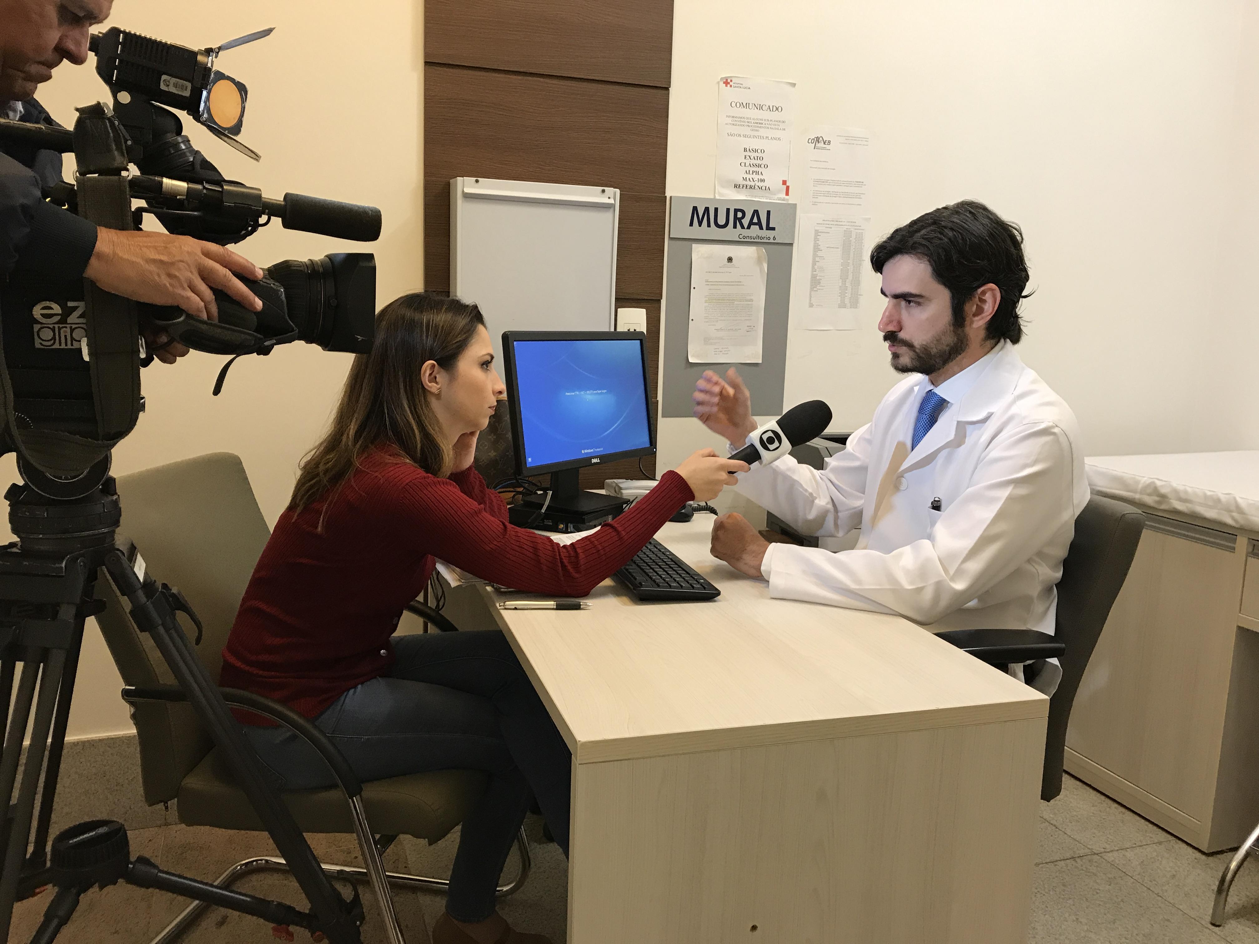 TV Globo - Dr. Guilherme Feijó HSL - 21-06-2017