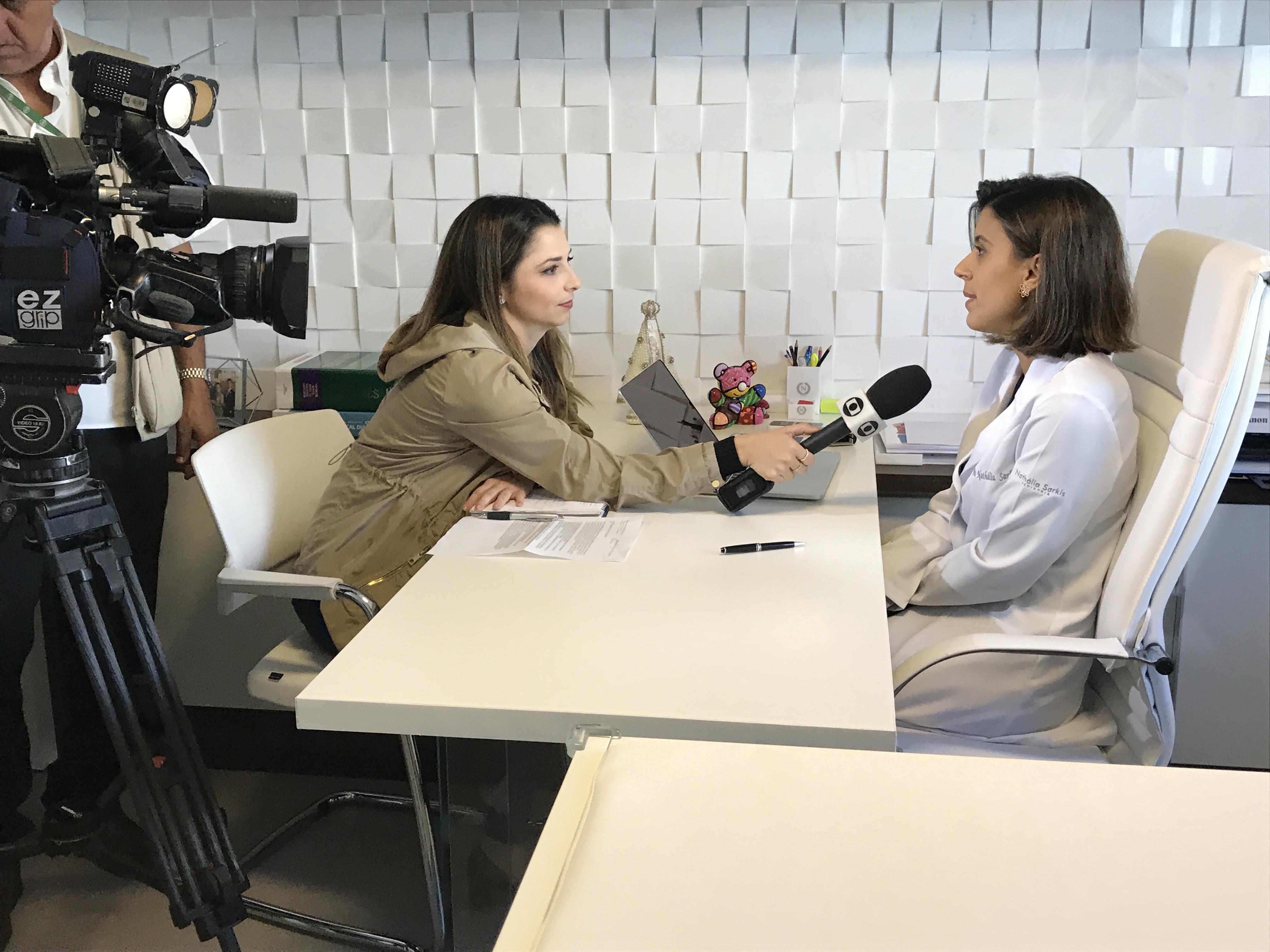 TV Globo - Dra. Nathália Sarkis HSL - 07-06-2017