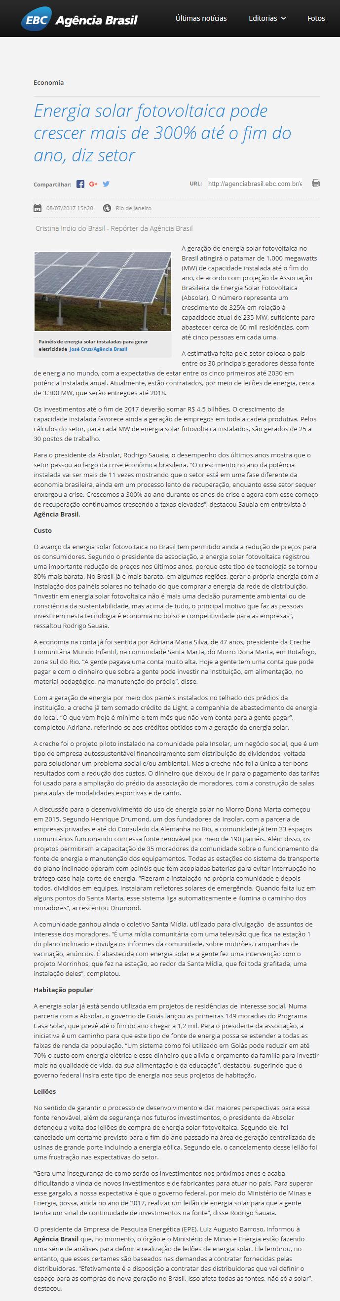 Lara absolar agencia brasil 2