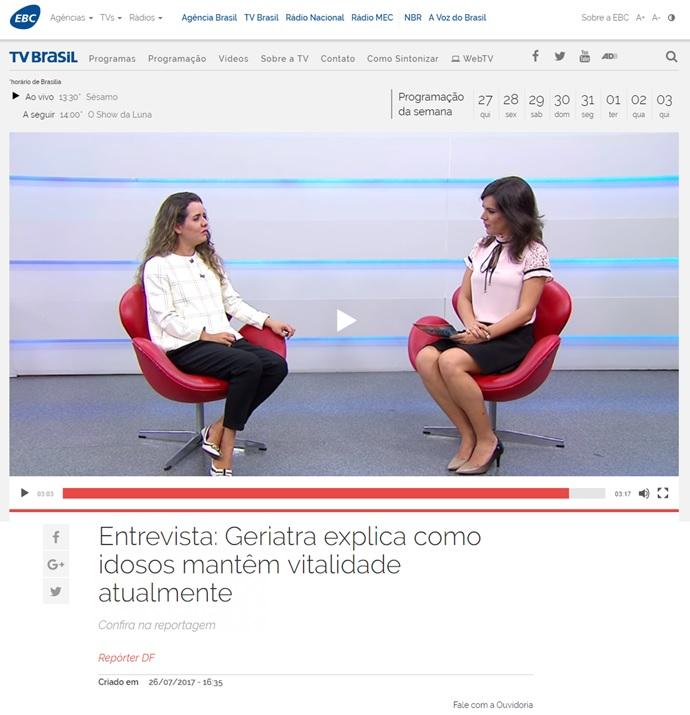 TV Brasil Feira da Longevidade