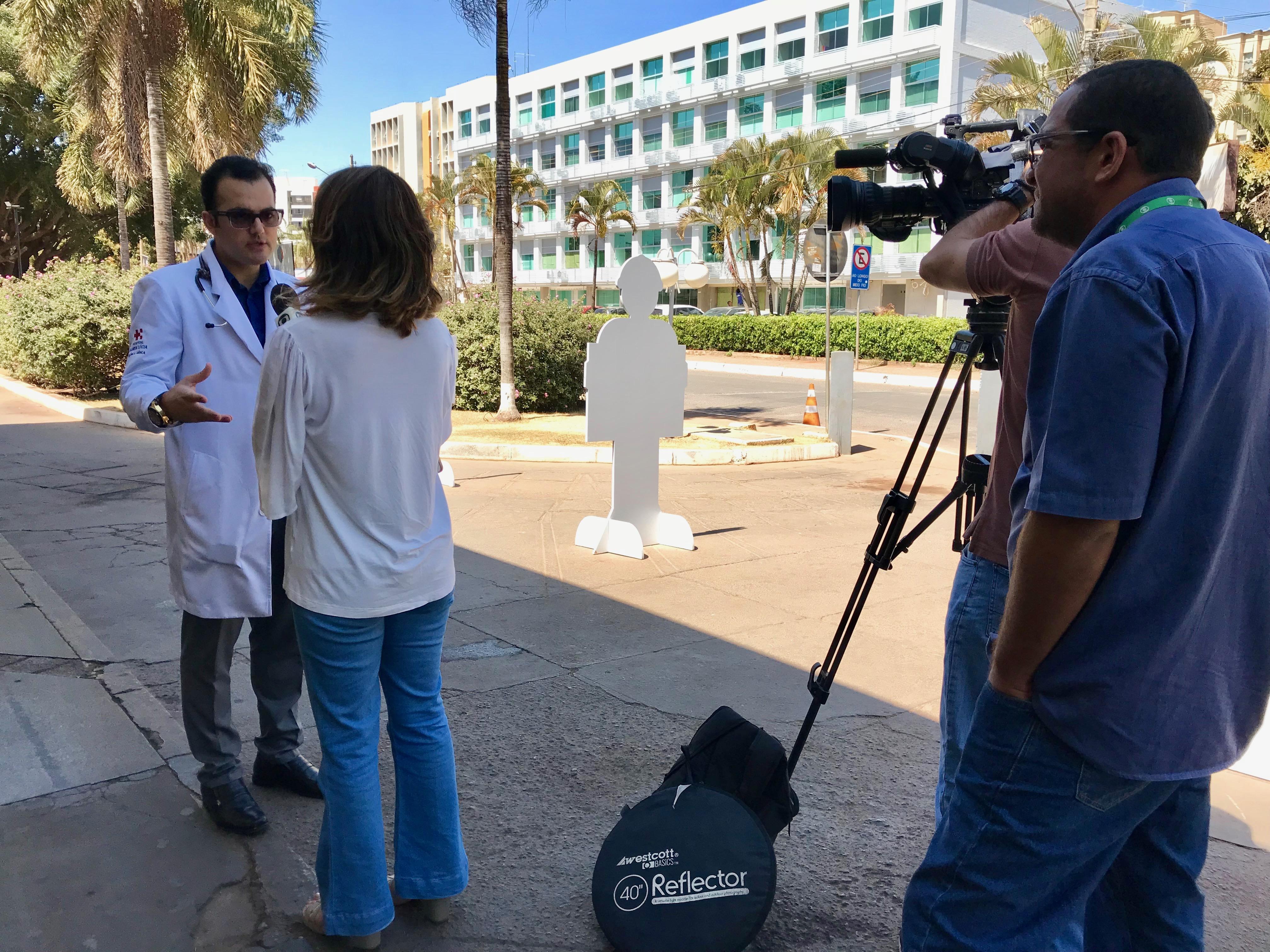 TV Globo - Dr. Marcos Pontes HSL - 18-08-2017