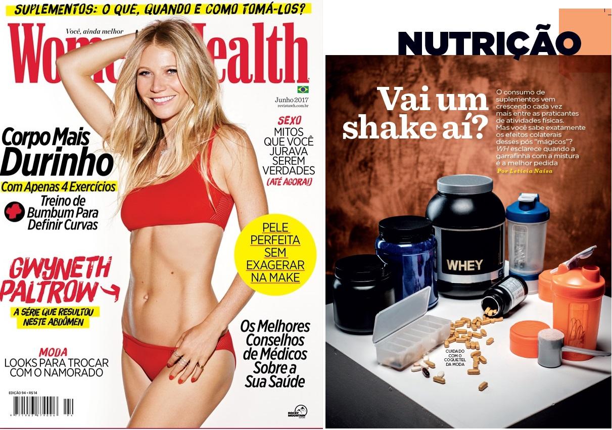 Revista Womens Health Brasil (capa + matéria) - Dr. Allan Ferreira HSL - Junho de 2017