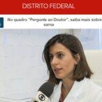 TV Globo G1 - Dra. Nathália Sarkis HSL - 06-09-2017
