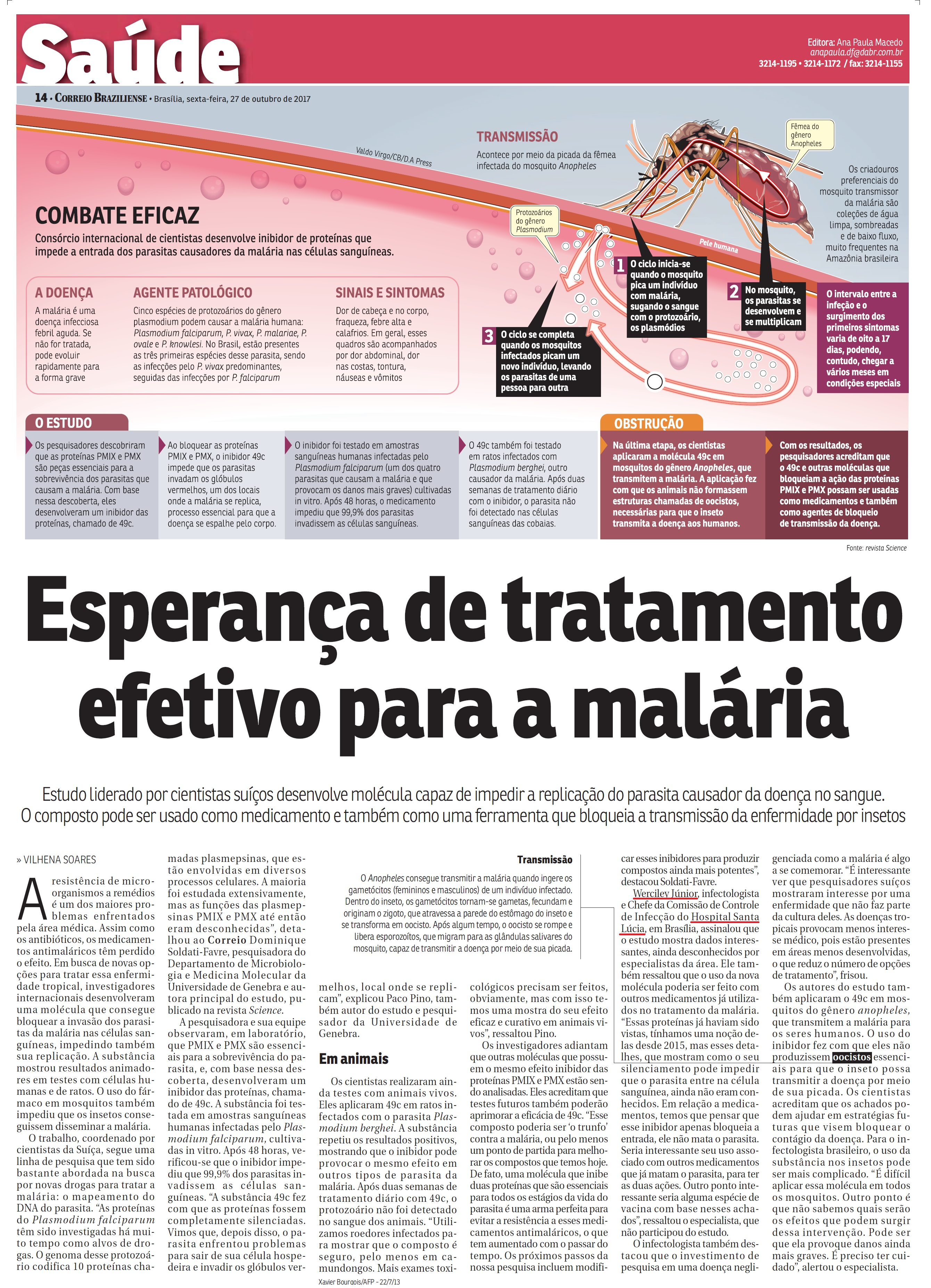 Correio Braziliense - Dr. Werciley Júnior HSL - 27-10-2017