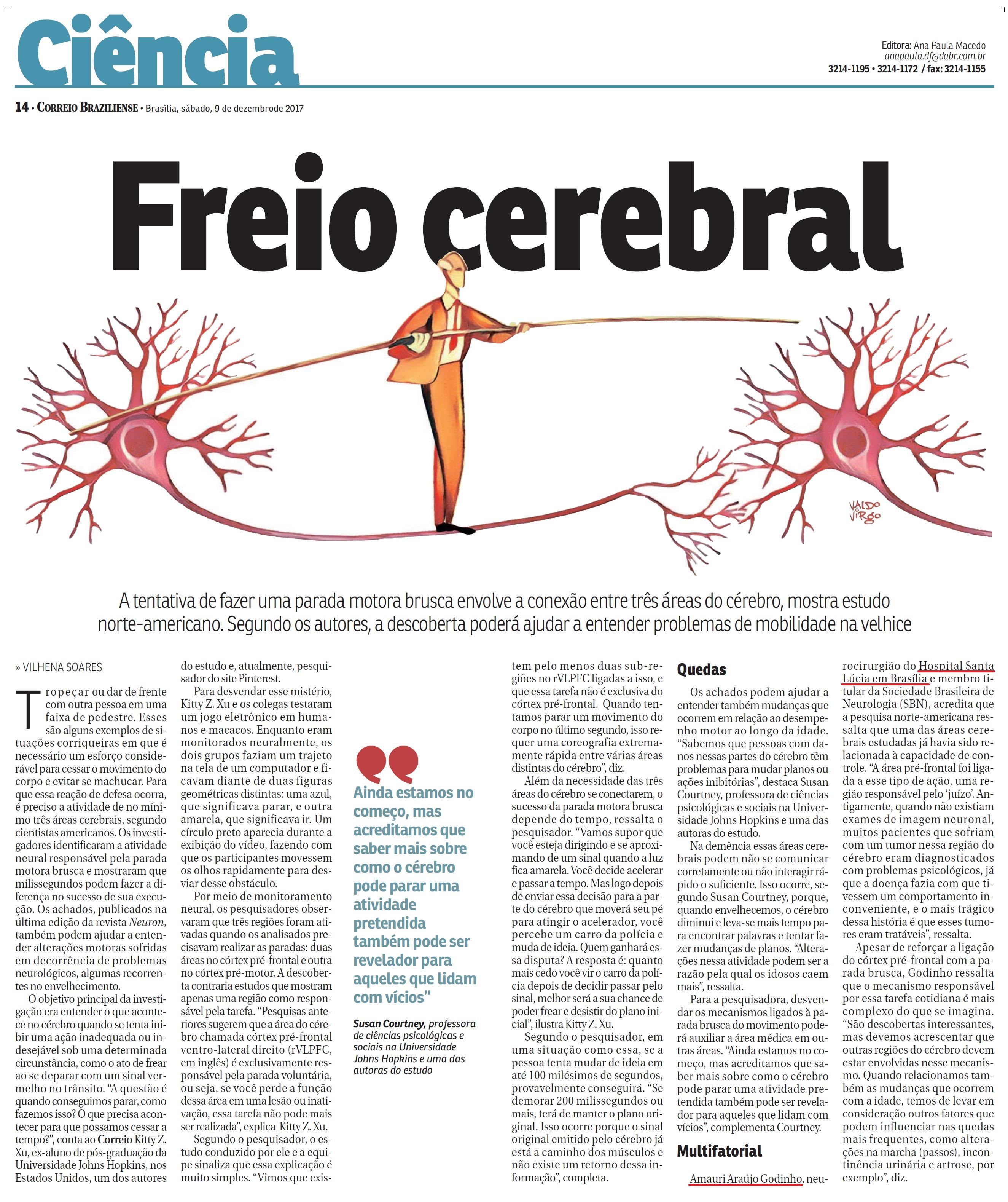 Correio Braziliense - Dr. Amauri Godinho HSL - 09-12-2017