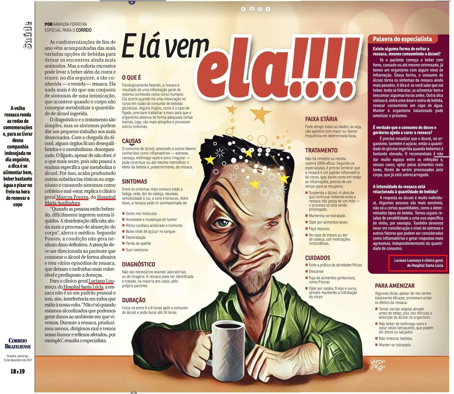 Revista do Correio - Dr. Luciano Lourenço HSL - 31-12-2017