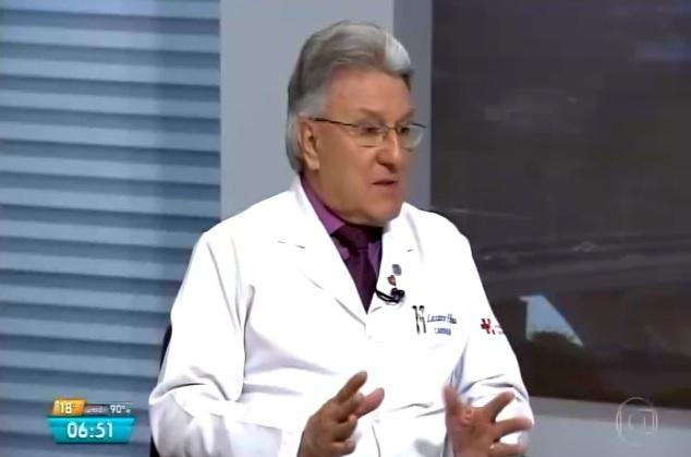 TV Globo 2 - Dr. Lázaro Miranda HSL - 19-12-2017