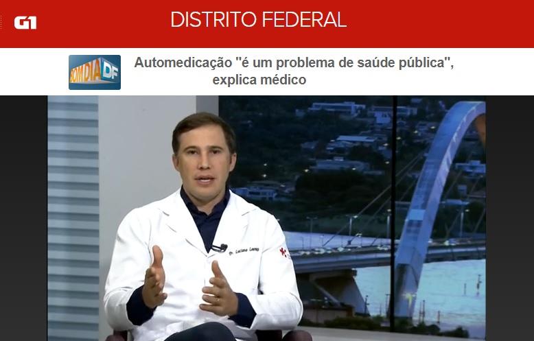 TV Globo G1 - Dr. Luciano Lourenço HSL - 26-01-2018