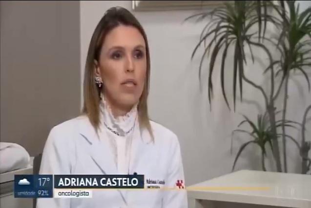 TV Globo - Dra. Adriana Castelo Moura HSLS - 05-02-2018