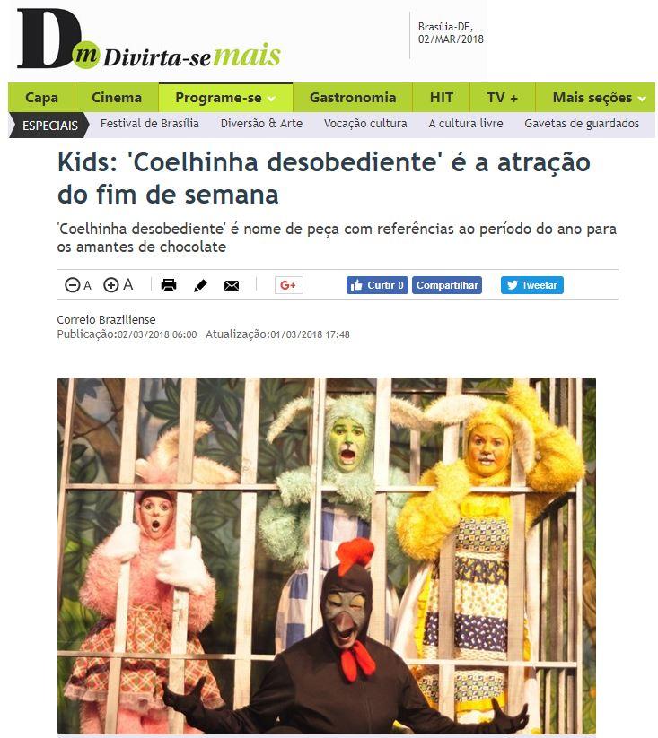 Coelhinha Desobediente D+