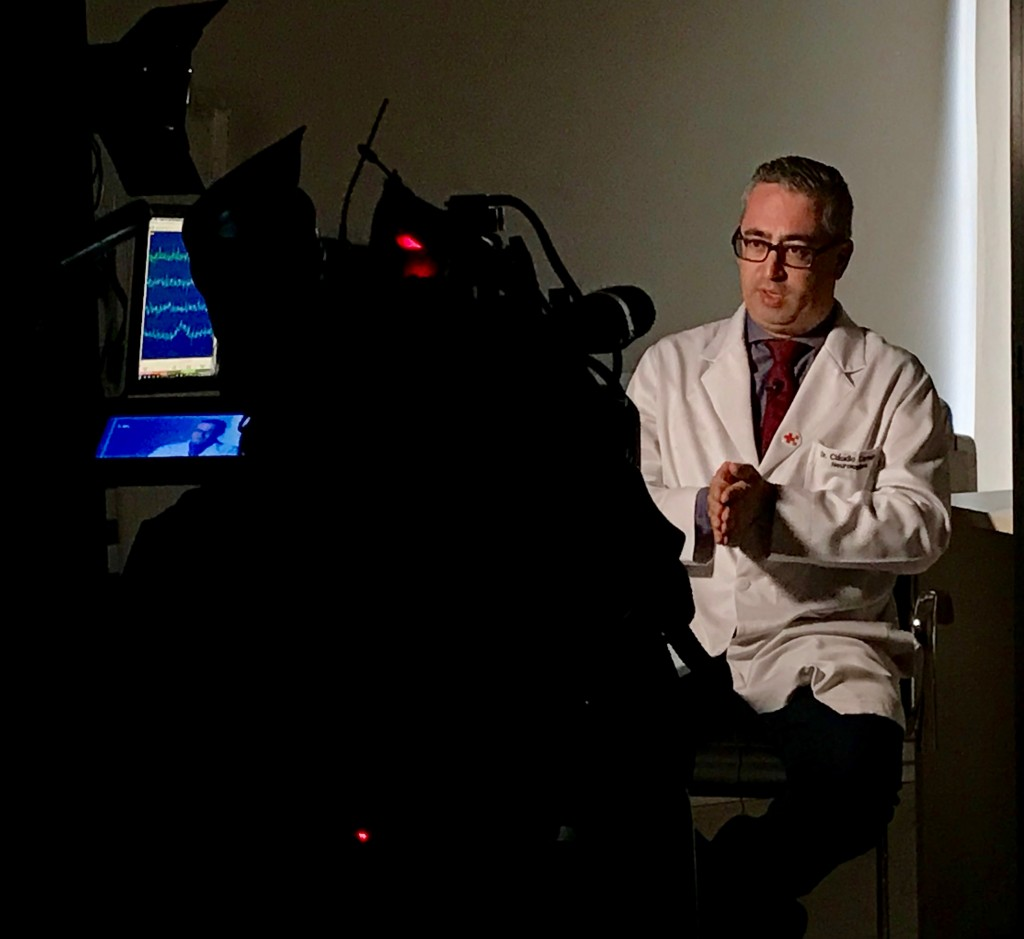 TV Globo - Dr. Cláudio Carneiro HSLS - 12-03-2018