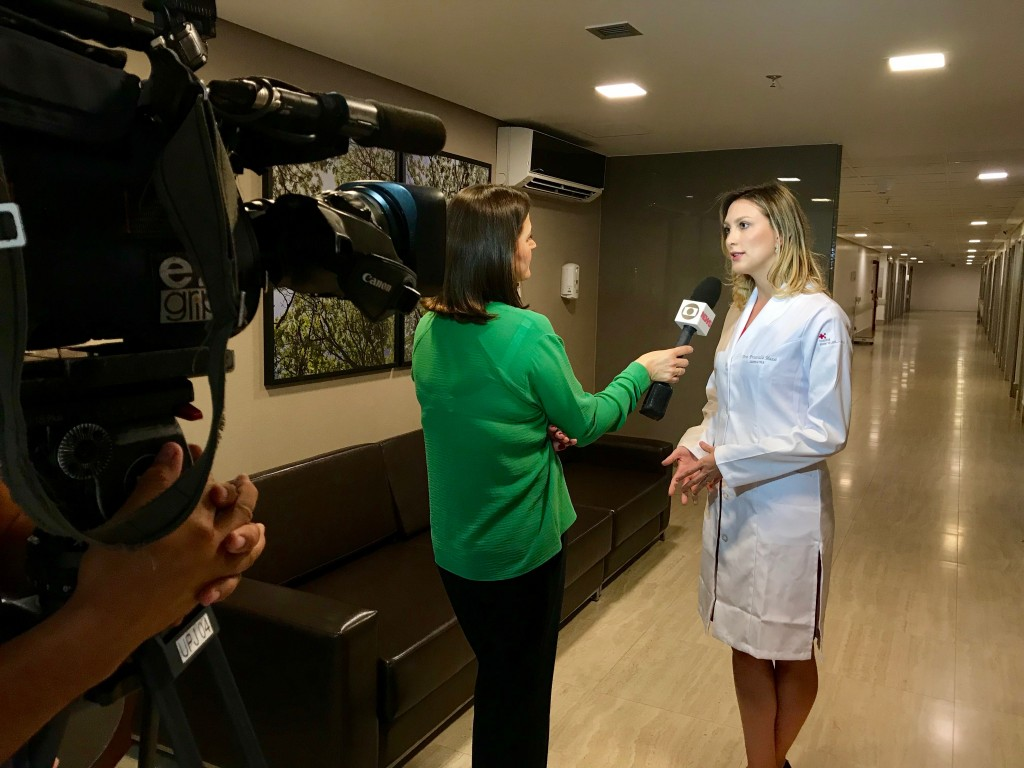 TV Globo - Dra. Priscilla Mussi HSLS - 02-03-2018