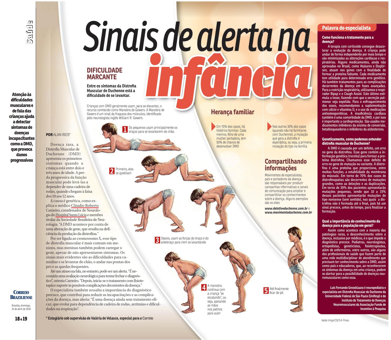 Revista do Correio - Dr. Cláudio Carneiro HSLS - 15-04-2018