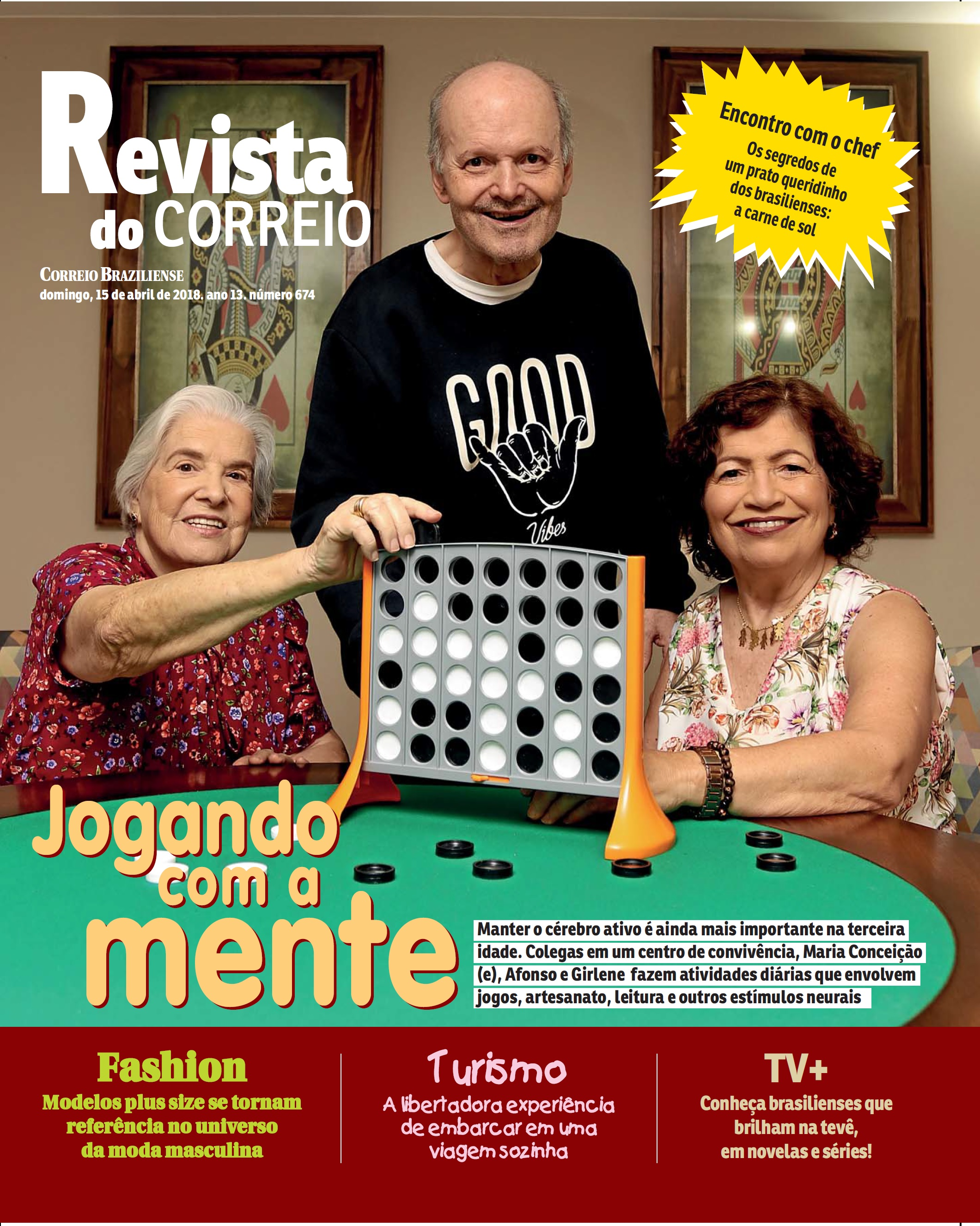 Revista do Correio - Estímulo Cerebral - 15-04-2018 [CAPA]