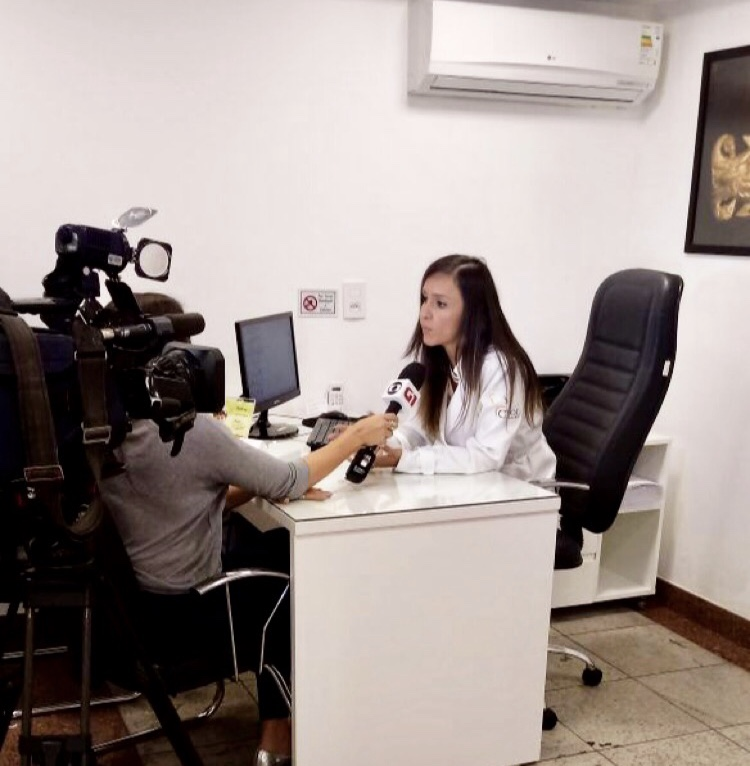 TV Globo - Dra. Larissa Camargo - 11-04-2018