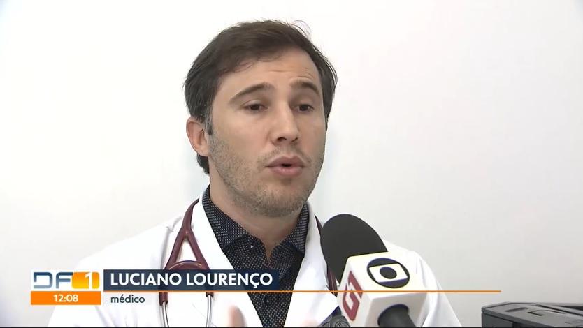 TV Globo G1 - Dr. Luciano Lourenço HSLS - 25-04-2018