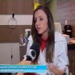 TV Record - Dra. Larissa Camargo - 13-04-2018