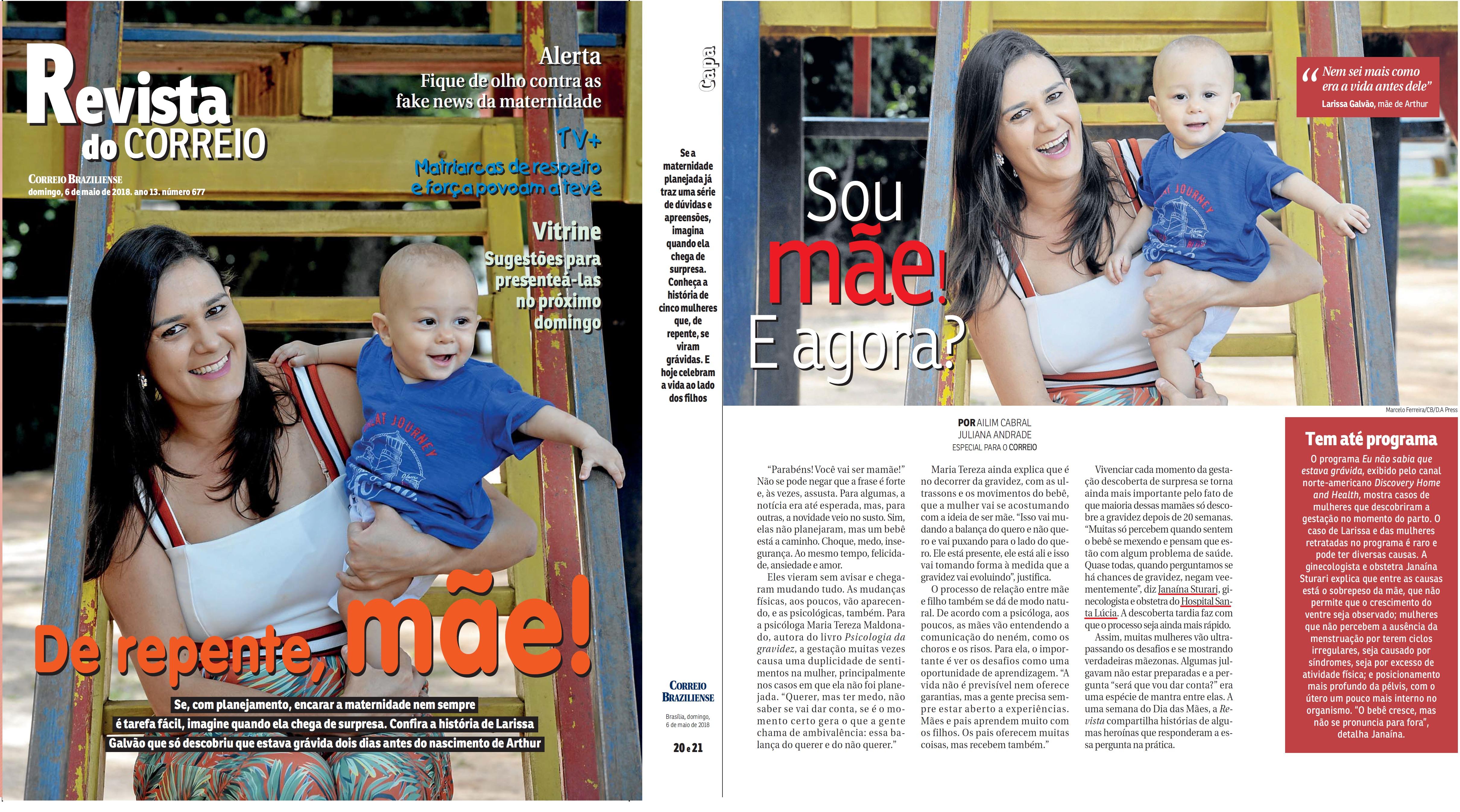 Revista do Correio - Dra. Janaína Sturari HSLS - 06-05-2018