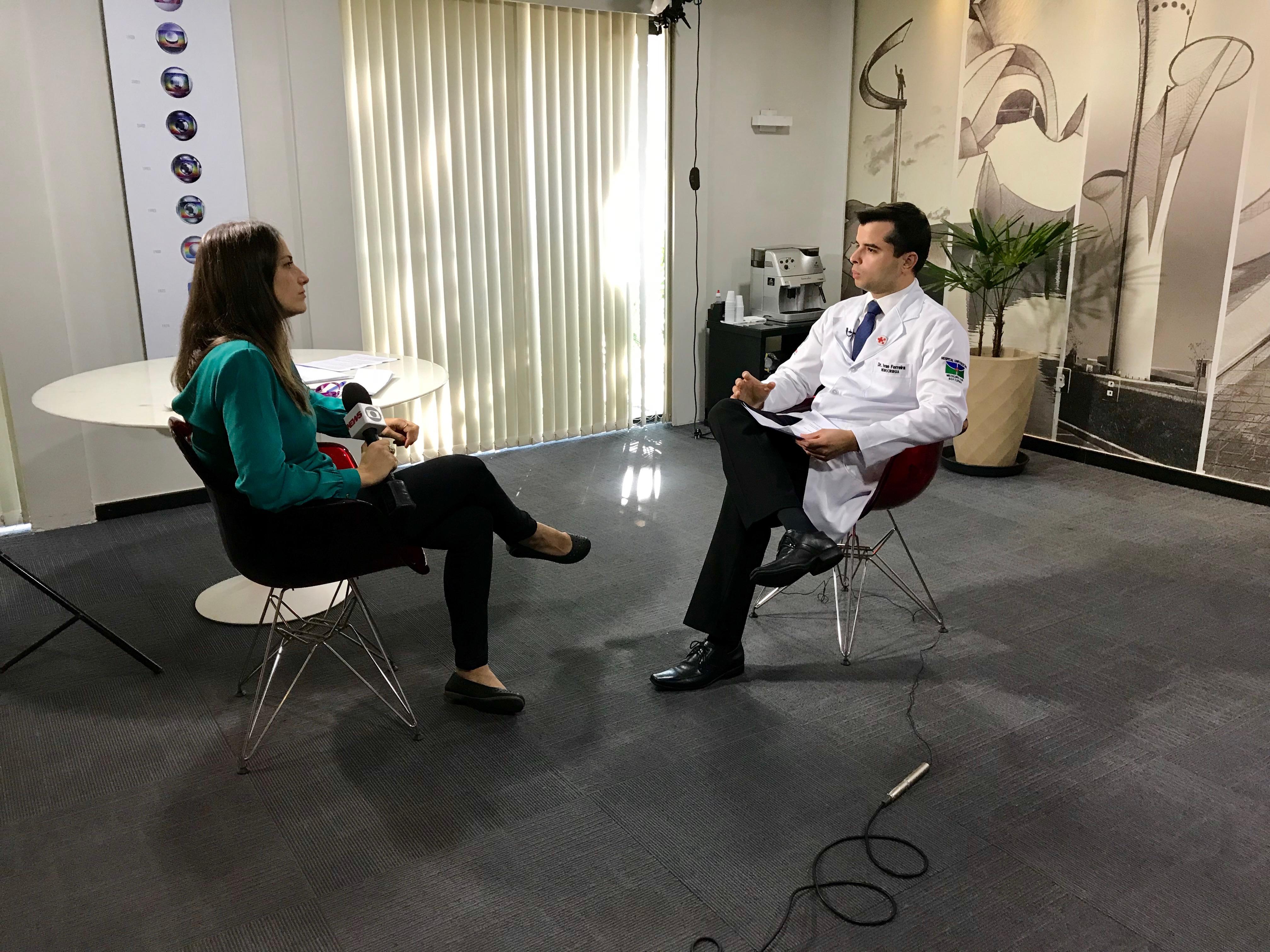 TV Globo - Dr. Ivan Coelho HSLS - 08-05-2018