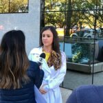 TV Globo - Dra. Larissa Camargo HSLS - 09-05-2018