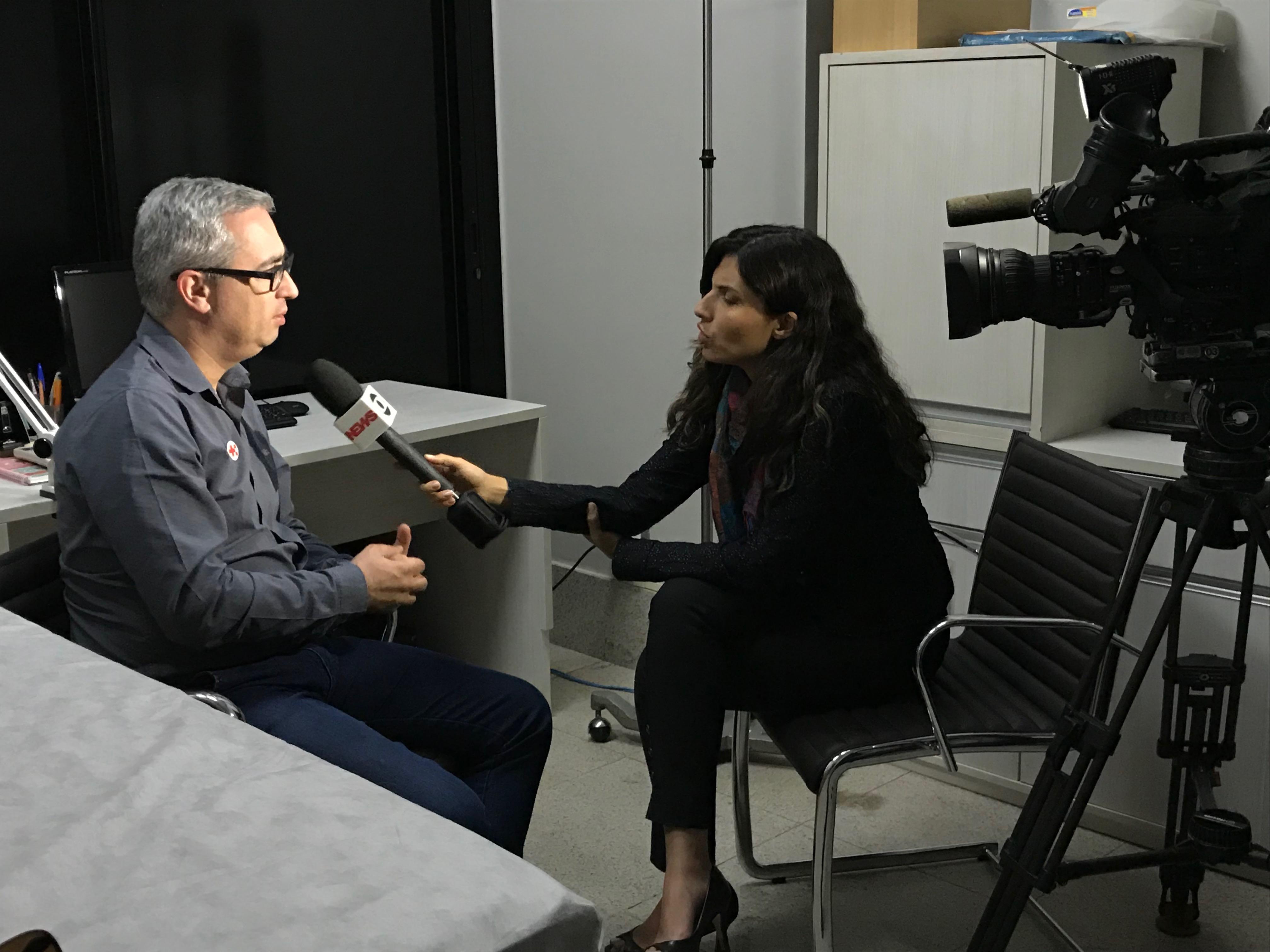 TV Globo - Dr. Cláudio Carneiro HSLS - 30-05-2018