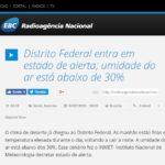 Radioagência Nacional EBC - Dra. Larissa Camargo HSLS - 09-07-2018