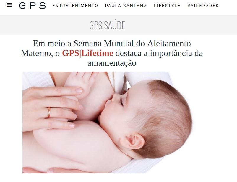 GPS Lifetime - Dra. Sandra Lúcia Andrade HSLS - 06-08-2018