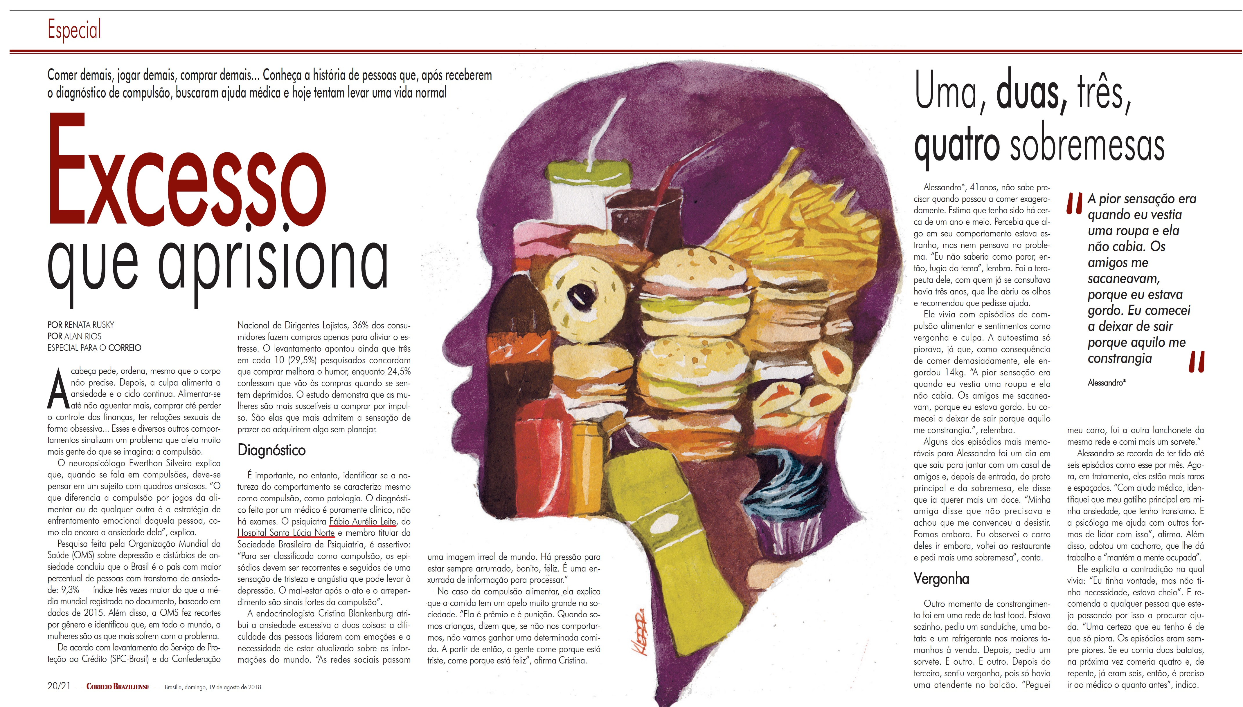 Revista do Correio - Dr. Fábio Aurélio Leite HSLN - 19-08-2018