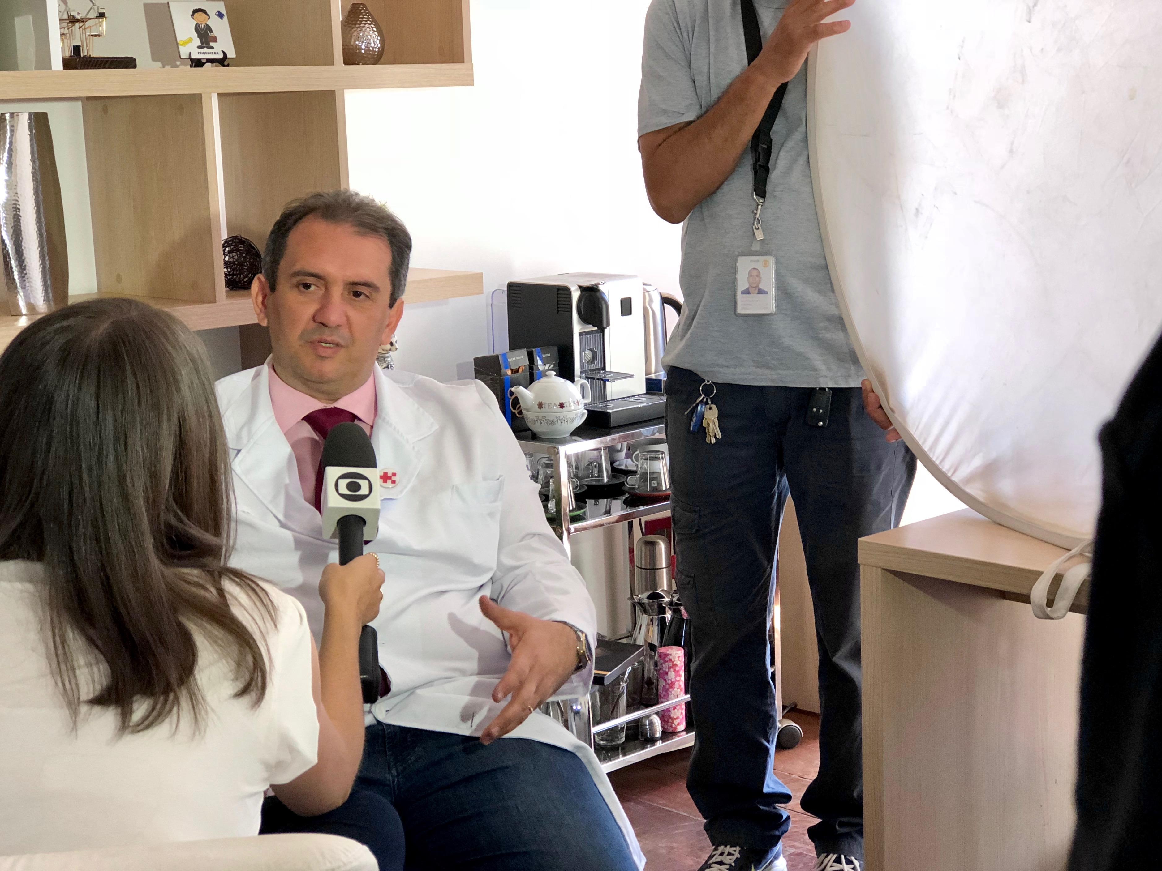 TV Globo - Dr. Fábio Aurélio Leite HSLN - 10-09-2018